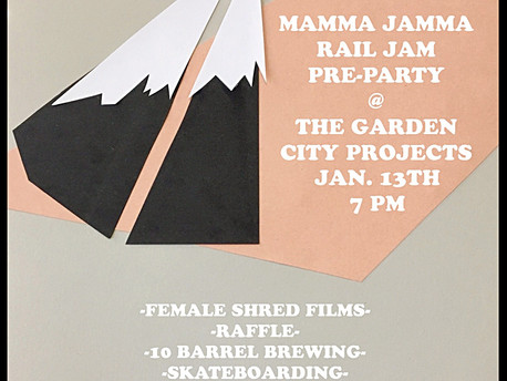 Pre-Party For This Year's Mamma Jamma Rail Jam