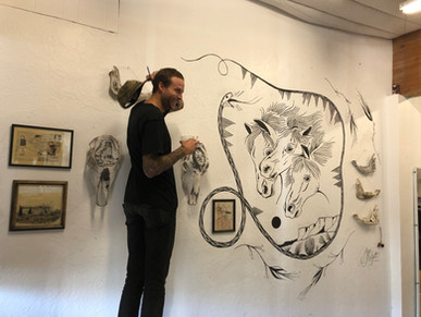 Featured Artist, Jess Mudgett, 2019