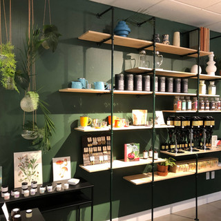 Pipe Shelving, Vervain Collective