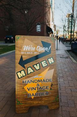 Maven A-frame Sign, 2020