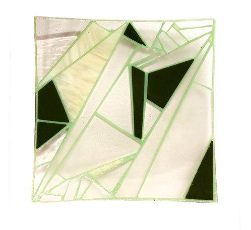 Geo Glass Platter