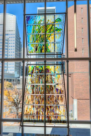Tall Grass Tapestry, Troy Corliss, Des Moines, IA 2013