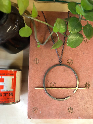 Piston Ring Necklace