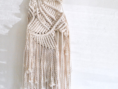 Macramé Wall Hanging 101 w/ Little Feral