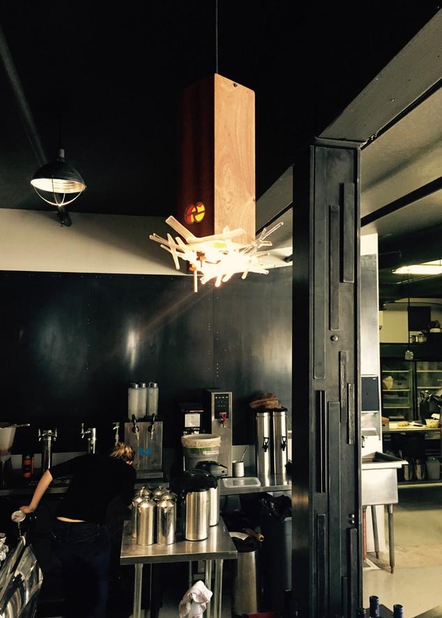 Lights and Beam Wrap, Coffeebar