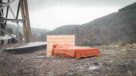 Tête de lit ondulée