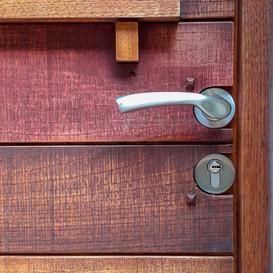 Porte d'entrée en couleurs