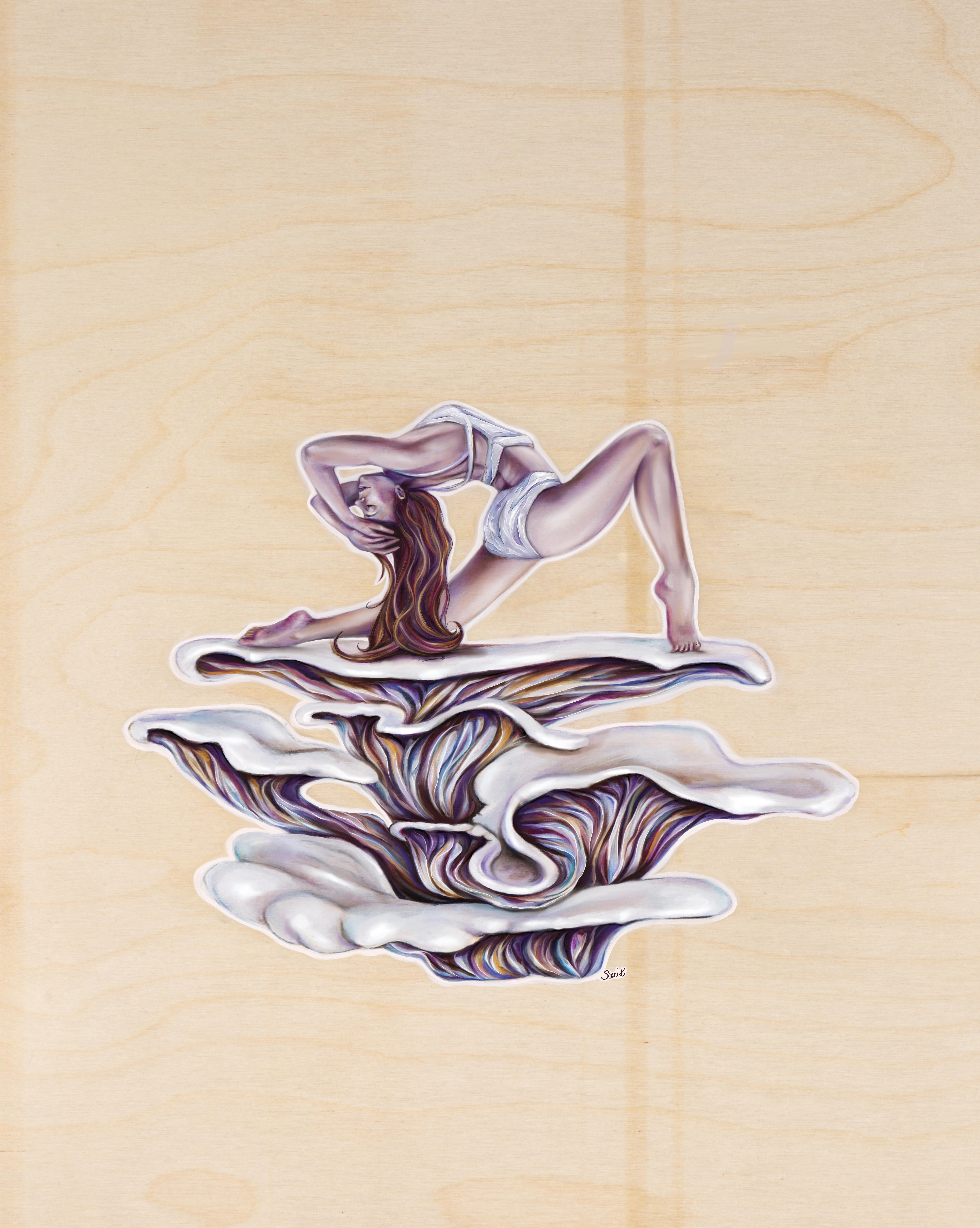 Oyser Mushroom Stretch