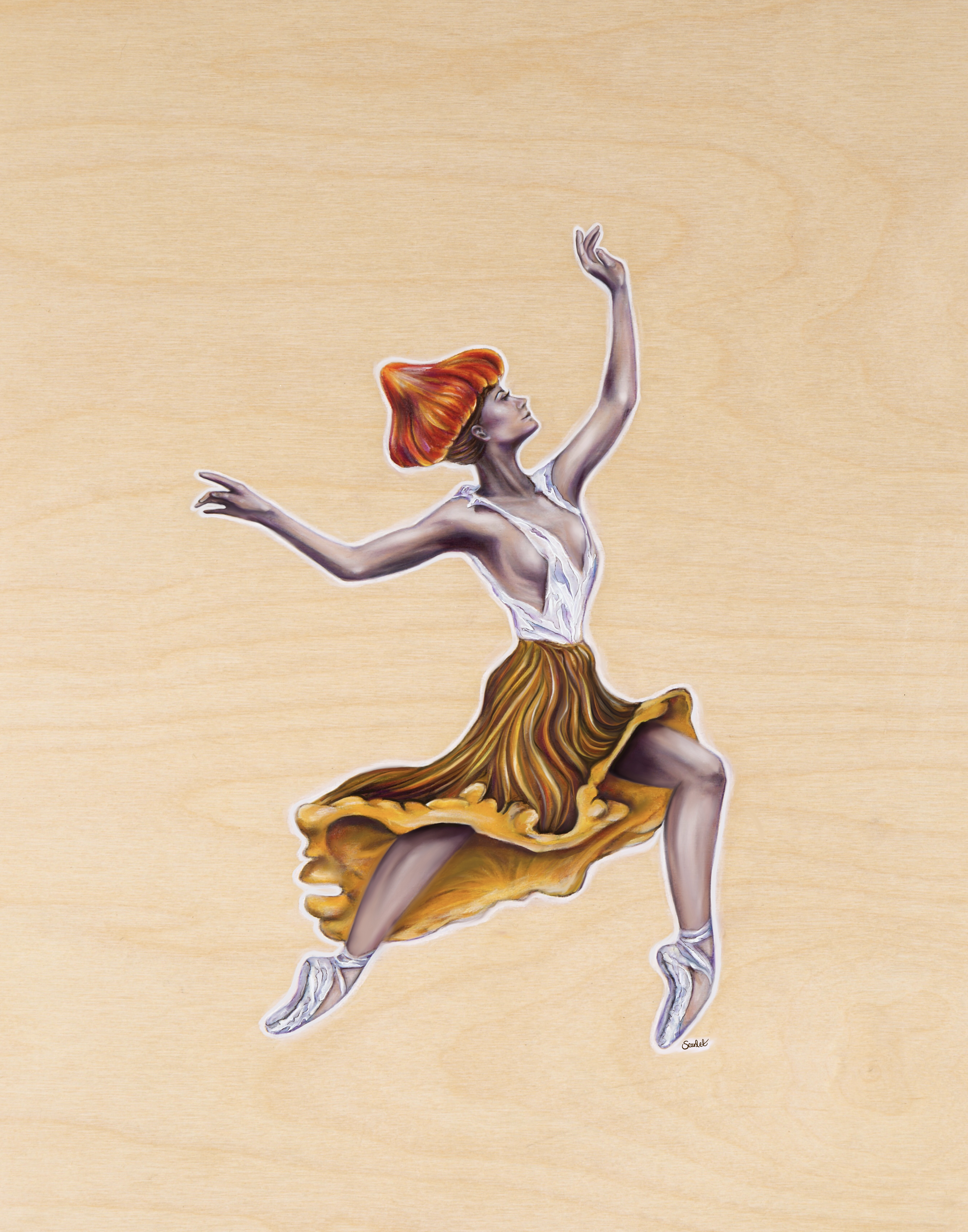 Chanterelle Dancer