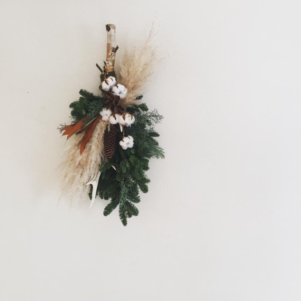 鹿の森の壁飾り