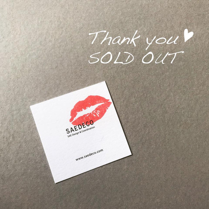 Thank you ♡ SOLD OUT