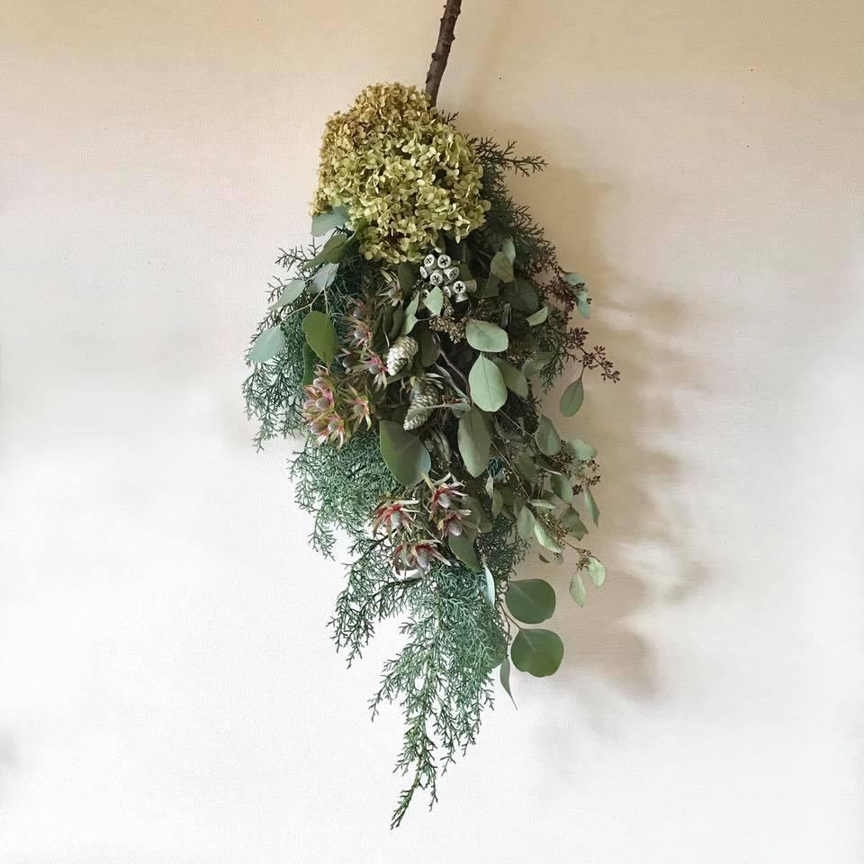 森の香りの壁飾り