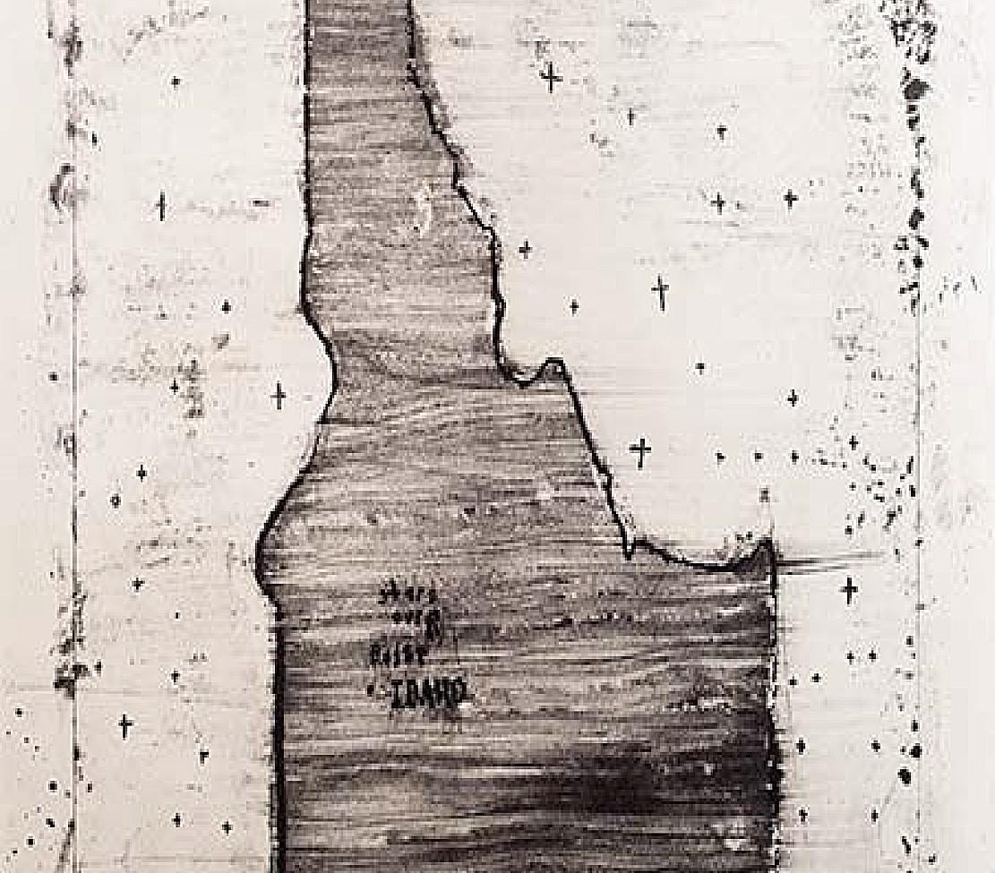 Дэвид Линч (David Lynch). Литография