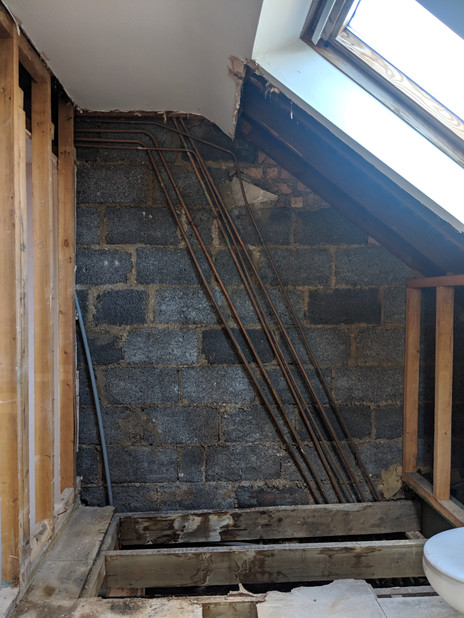 BEFORE: initial strip out