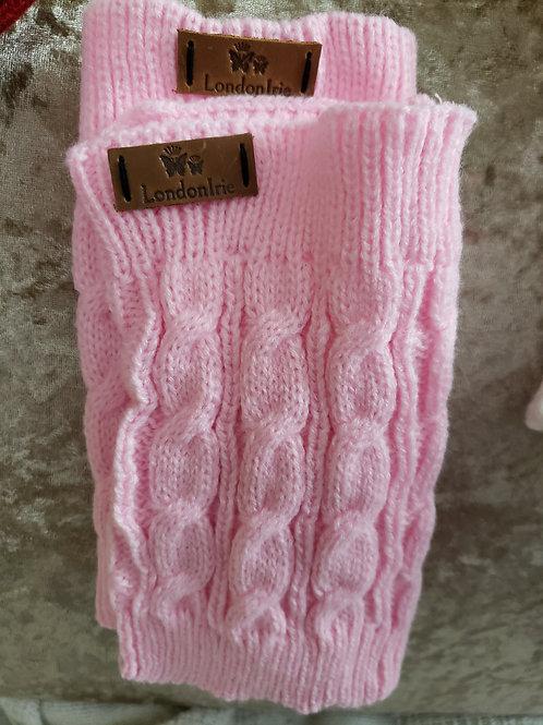 Super Pink Leg Warmers