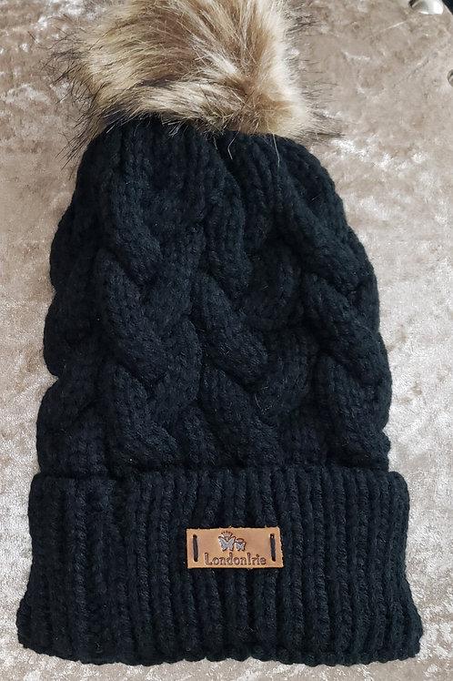 Kids Black Hat (0-1y)