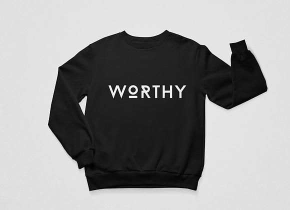 WORTHY Premium Sweatshirt (Black)
