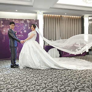 位彰&宇嫣結婚晚宴@維多利亞婚宴會館
