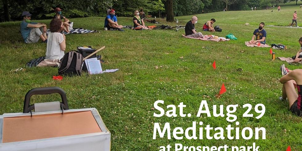 Morning Meditation at Prospect Park Aug 29th Sat 10-11 am
