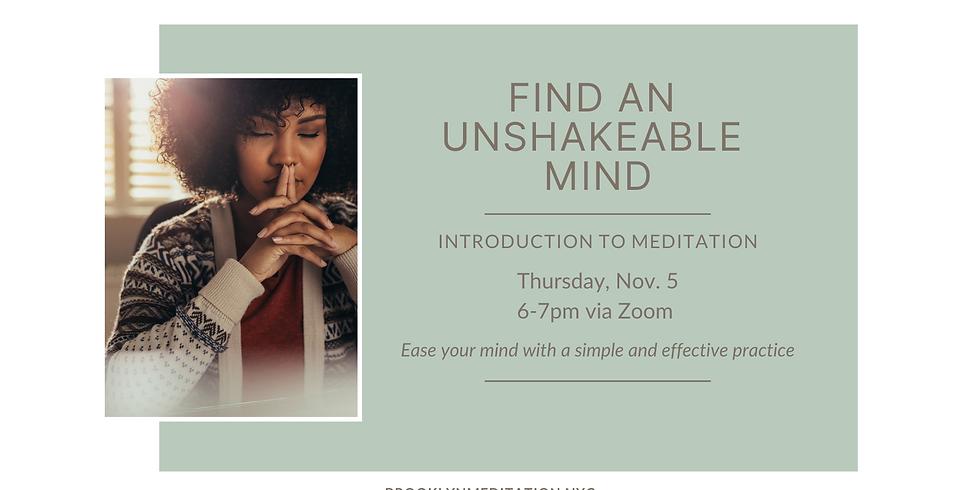 Virtual Group Meditation