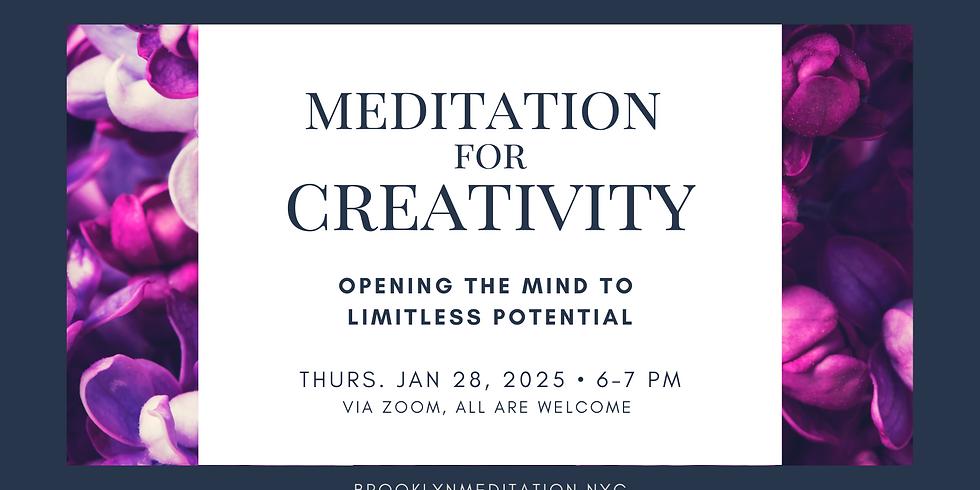 Meditation for Creativity