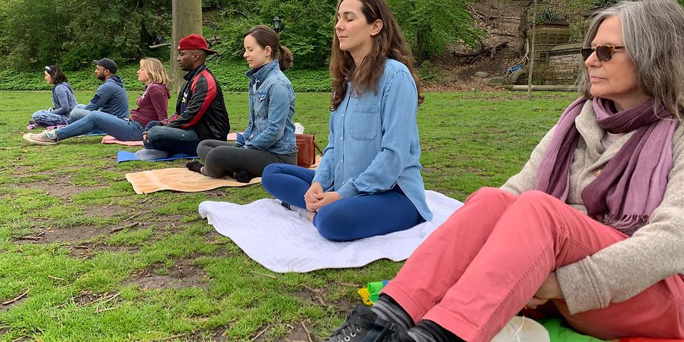 Summer Meditation Series at Prospect Park