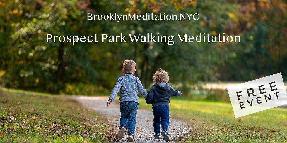 Morning Walking Meditation at Prospect Park Nov 14th @ 11 am