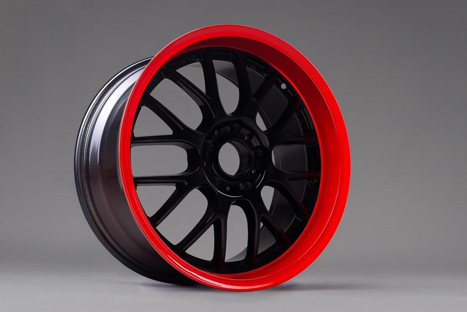 Rot & schwarz
