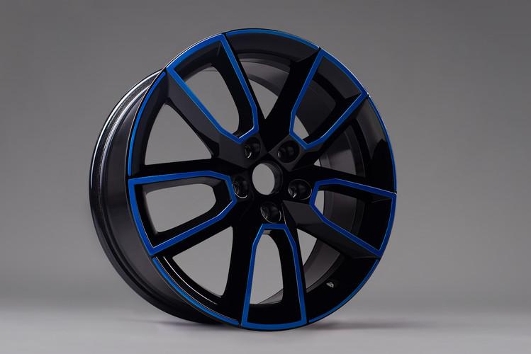 Blau & schwarz