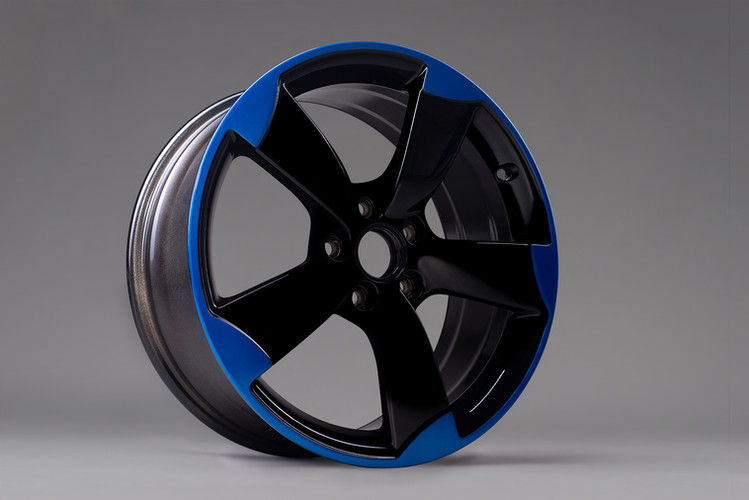 Candy blau & schwarz