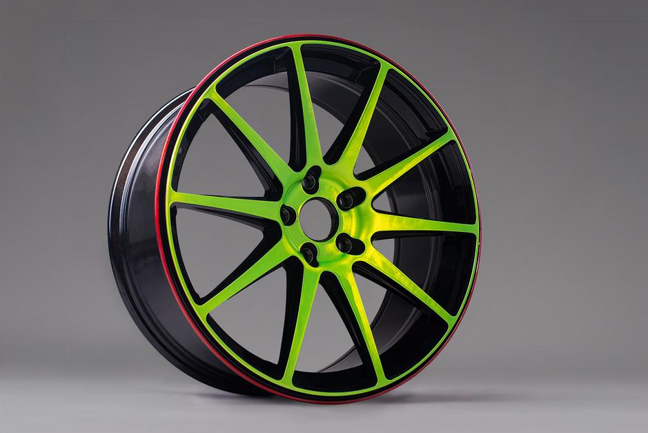 Rot, grün & schwarz