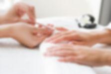 Gel manicure gel pedicure nail varnish