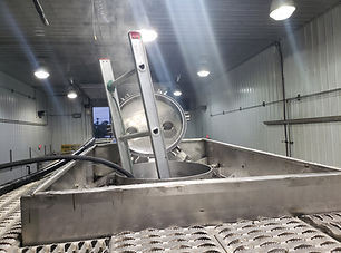 Inedible tank washout - Deluxe Truck Stop - St. Joseph, MO