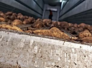 Reefer Potato Washout - Deluxe Truck Stop - St. Joseph, MO