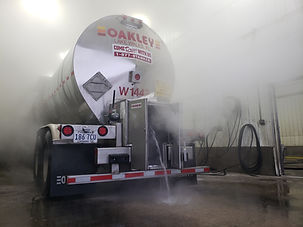 Food grade / Kosher tank wash - Deluxe Truck Stop - St. Joseph, MO