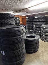 Tire Shop - Deluxe Truck Stop in St. Joseph, MO - Tire repair - tire order - tire shop - semi tires