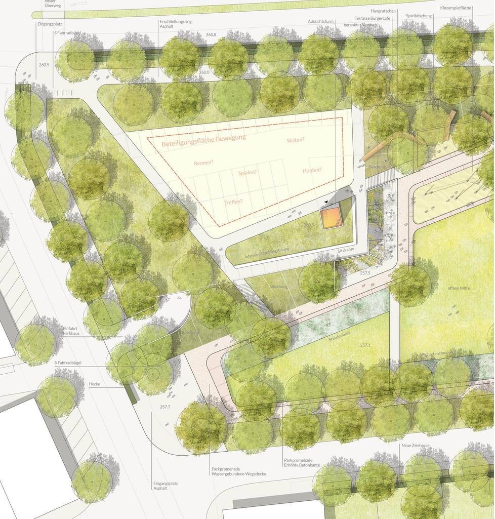 Detailplan West