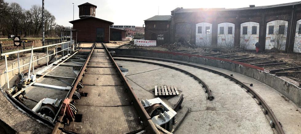 Blick über die Baustelle II