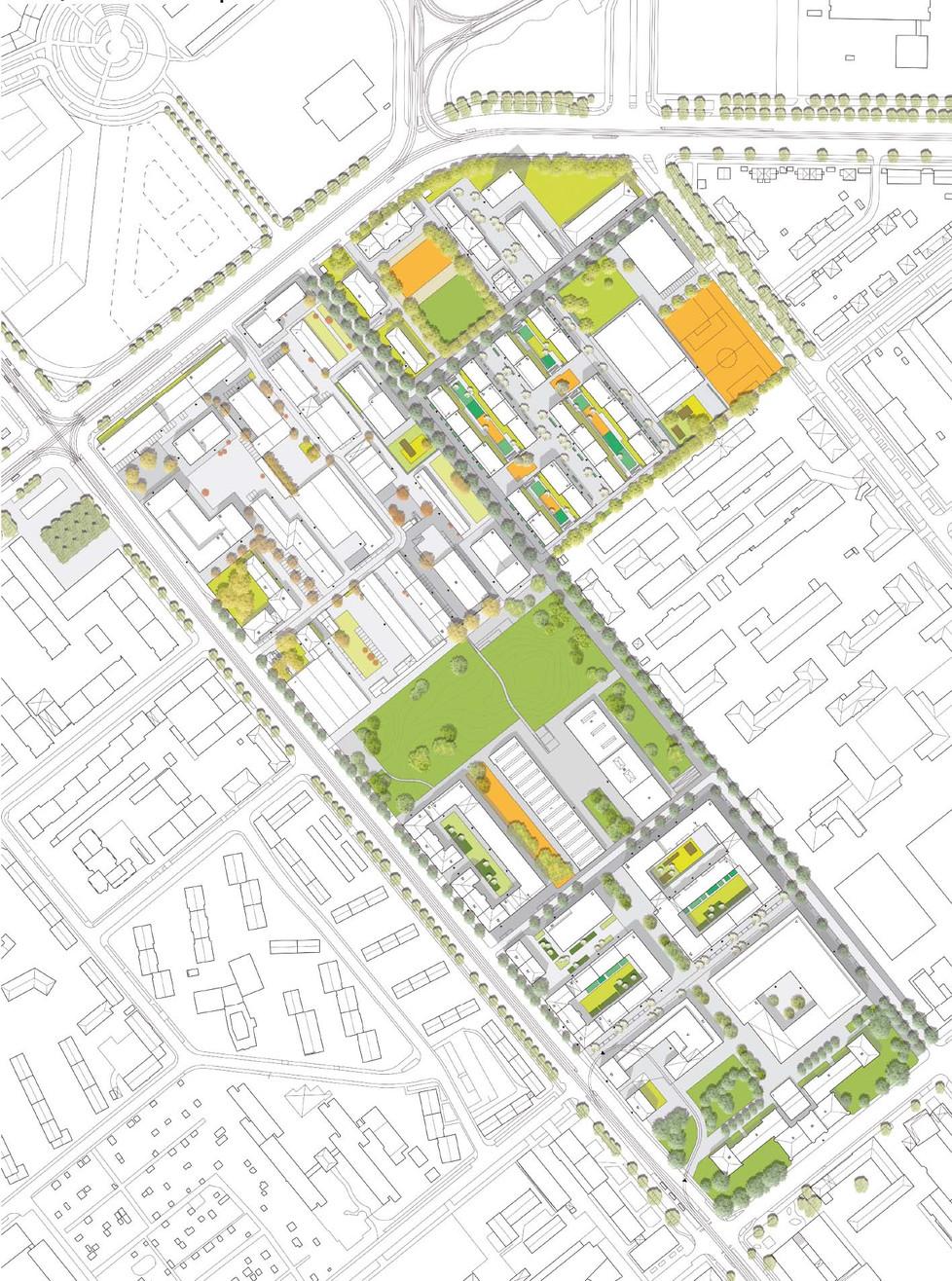 Entwurf für die Rahmenplanung