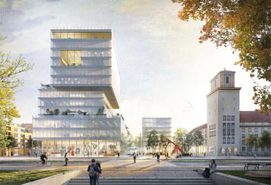 Neue Mitte Tempelhof I Berln