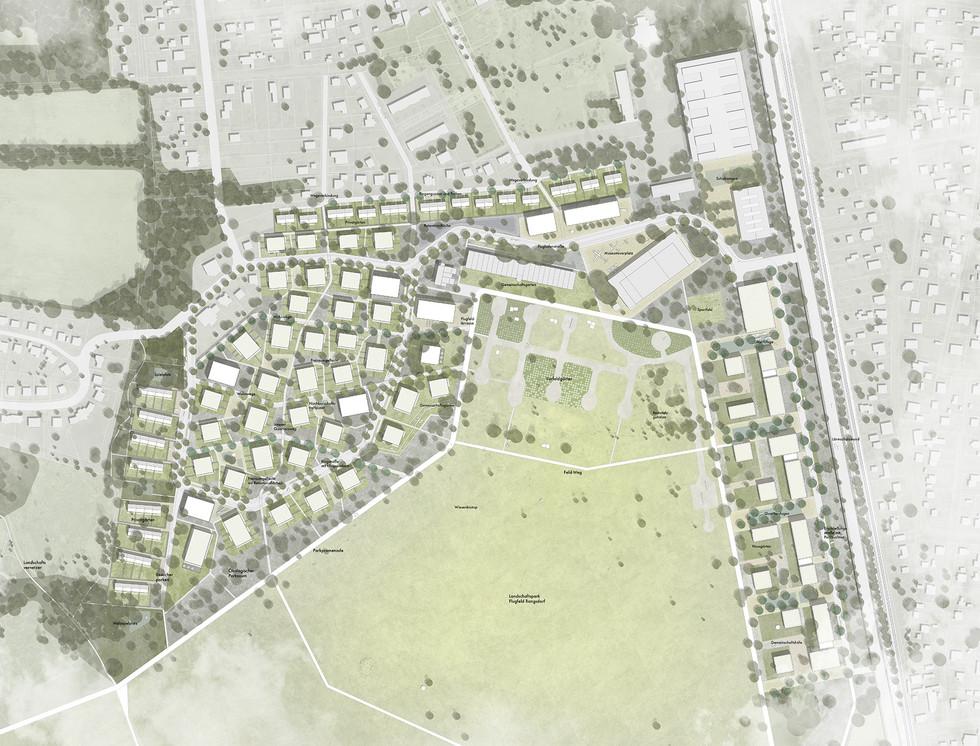 Quartier und Landschaftspark