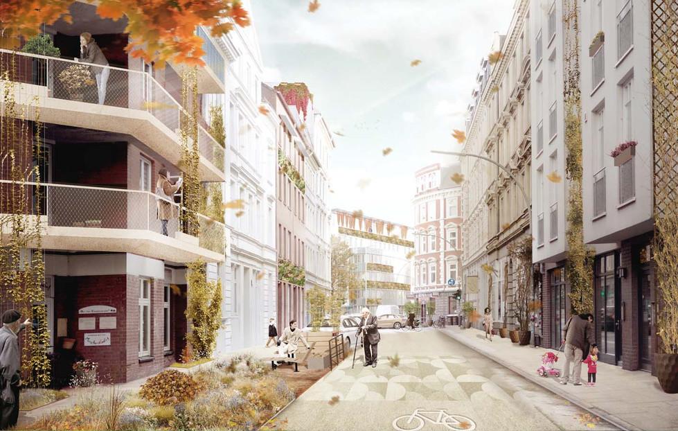 Herbst in der Lobuschstraße
