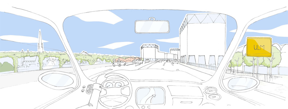 Visualisierung Stadteingang