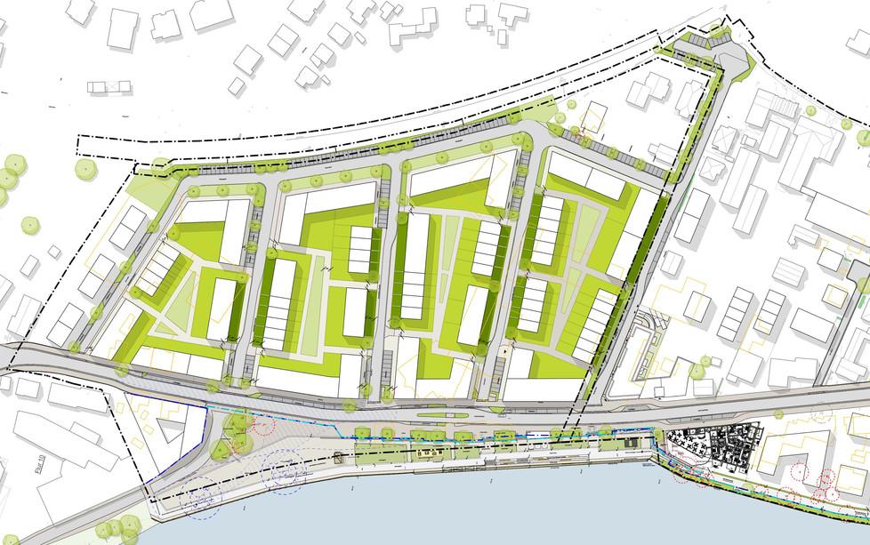 Lageplan Hafenplateau