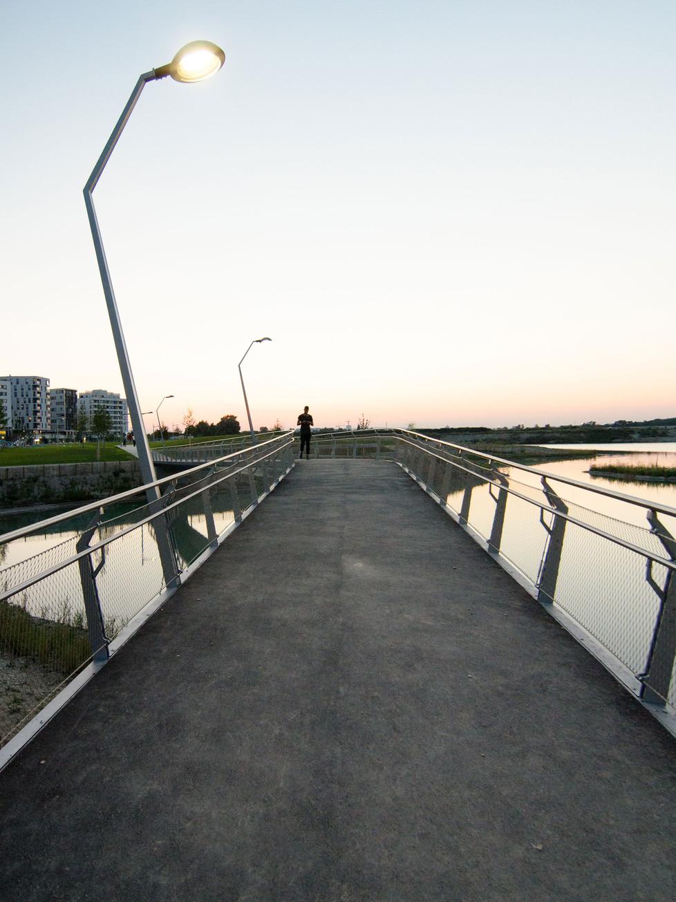 Brücke am Abend
