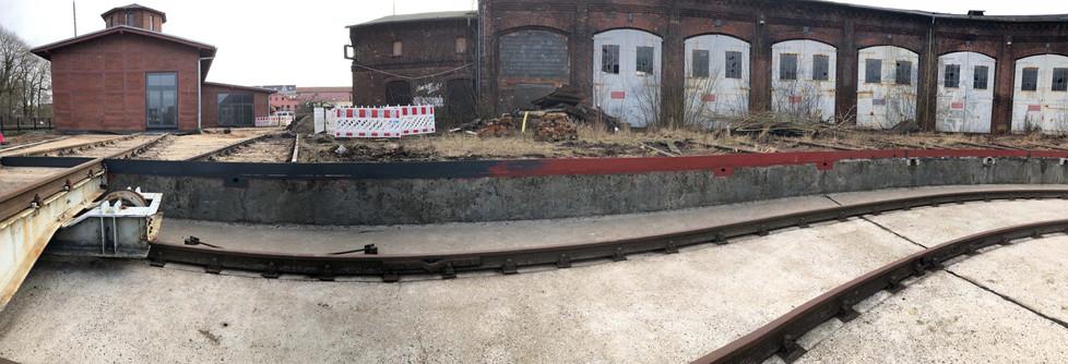 Blick über die Baustelle III