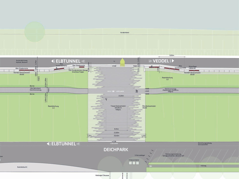 Planung Deich und Uferweg