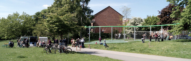 Landschaftsachse Horner Geest, Bürgerprojekte BorgfeldeI Hamburg