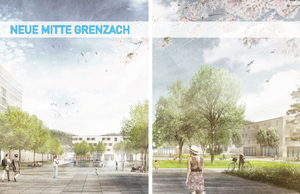 Rathaus vs. Grüne Mitte I Grenzach-Wyhlen