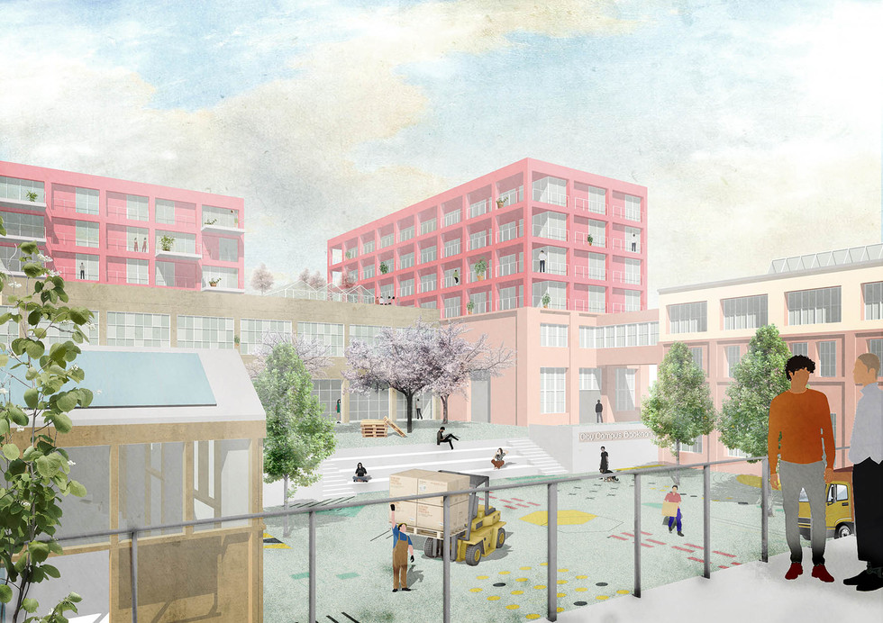 Visualisierung Produktives Quartier CityCampus